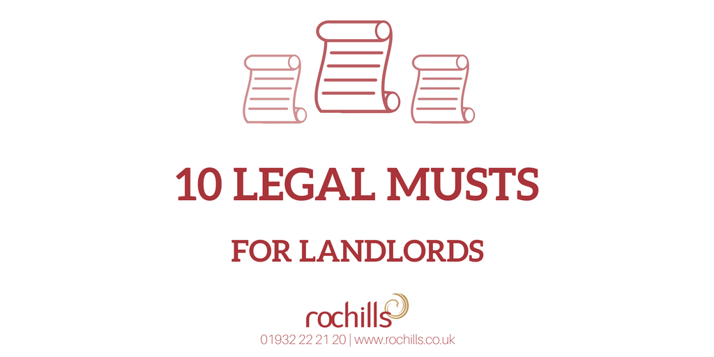 Ten Legal Musts For Landlords