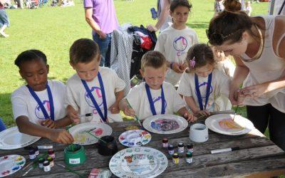 Sponsorship: Bell Farm School – Plate Painting