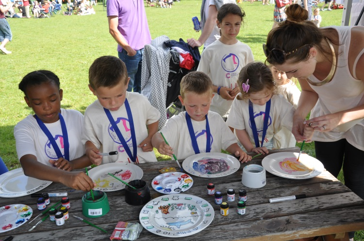 Sponsorship: Bell Farm School – Plate Painting