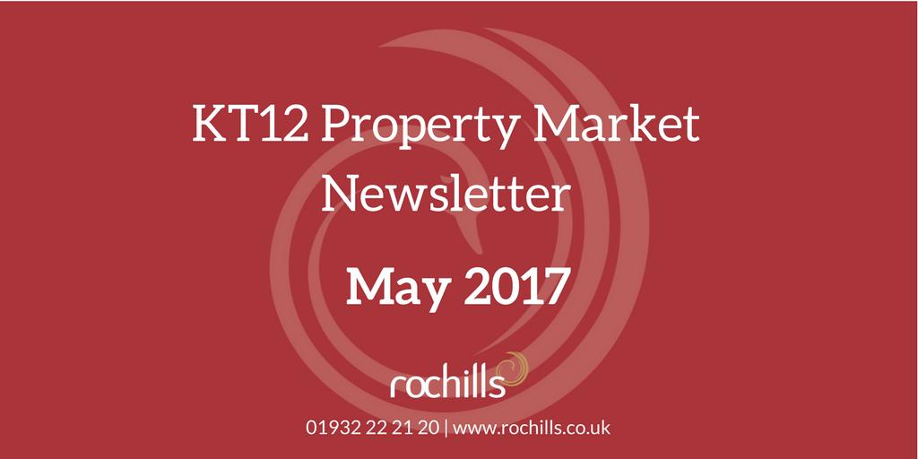 Walton On Thames – Property Market Update – May 2017