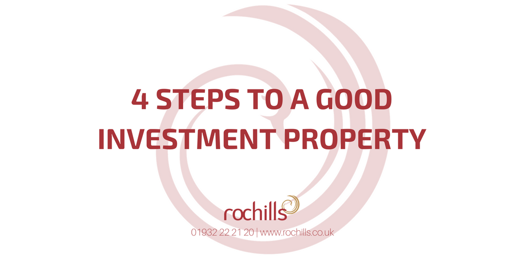 4 Steps To A Good Investment Property