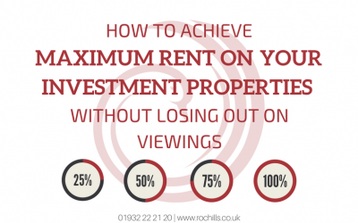 How To Achieve Maximum Rent On Your Investment Properties Without Losing Out On Viewings