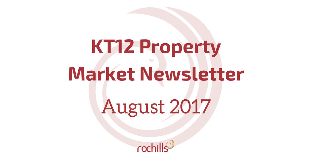 KT12 Property Market Newsletter August 2017