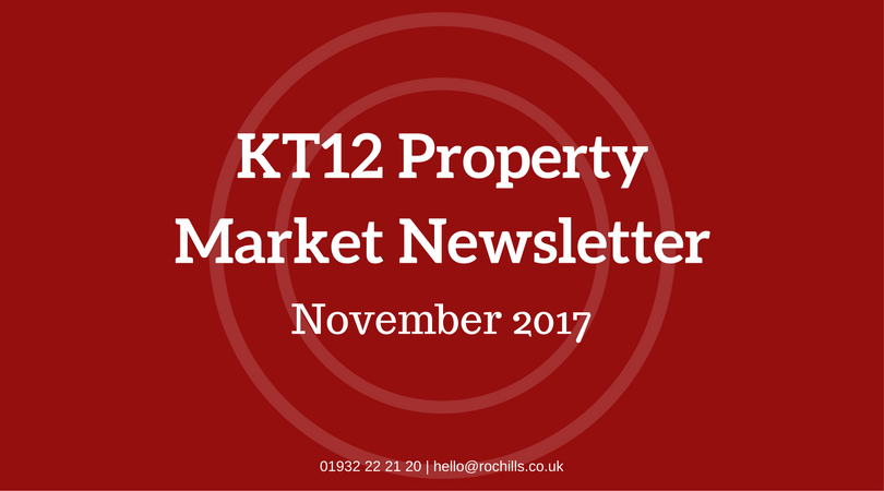 The KT12 Property Market Newsletter