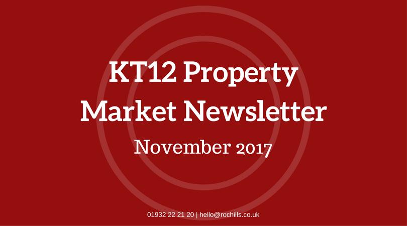 The KT12 Property Market Newsletter