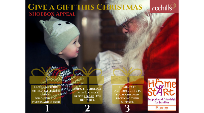 Give a gift with Rochills and Home-Start