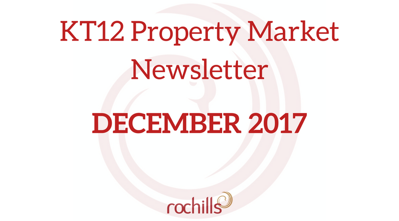 KT12 Property Market Newsletter – December 2017