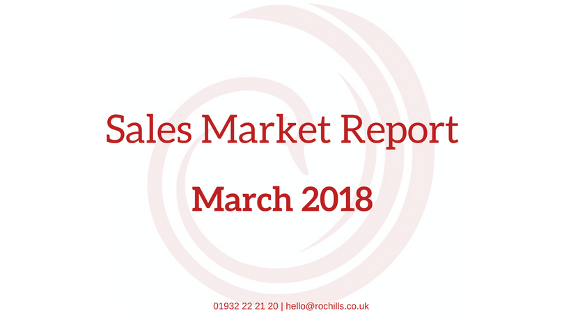 March 2018 – Sales Report