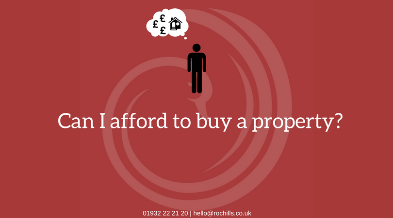 Can I afford to buy a property?…