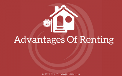 The advantages of renting.