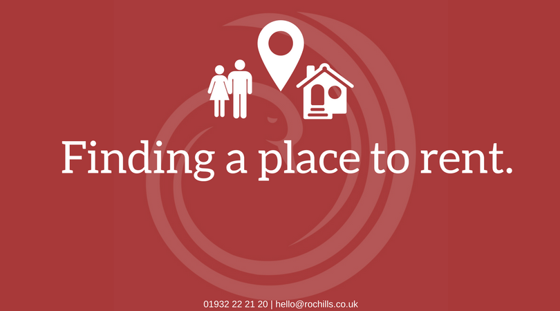 How to find a place to rent.