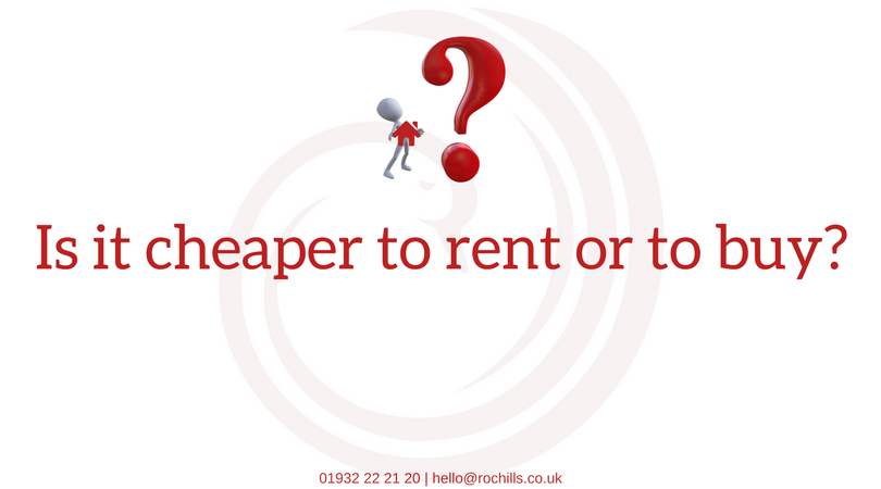 Is it cheaper to rent or to buy?