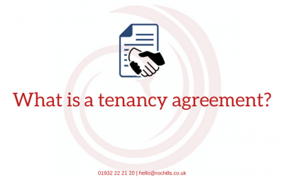 What is a tenancy agreement?