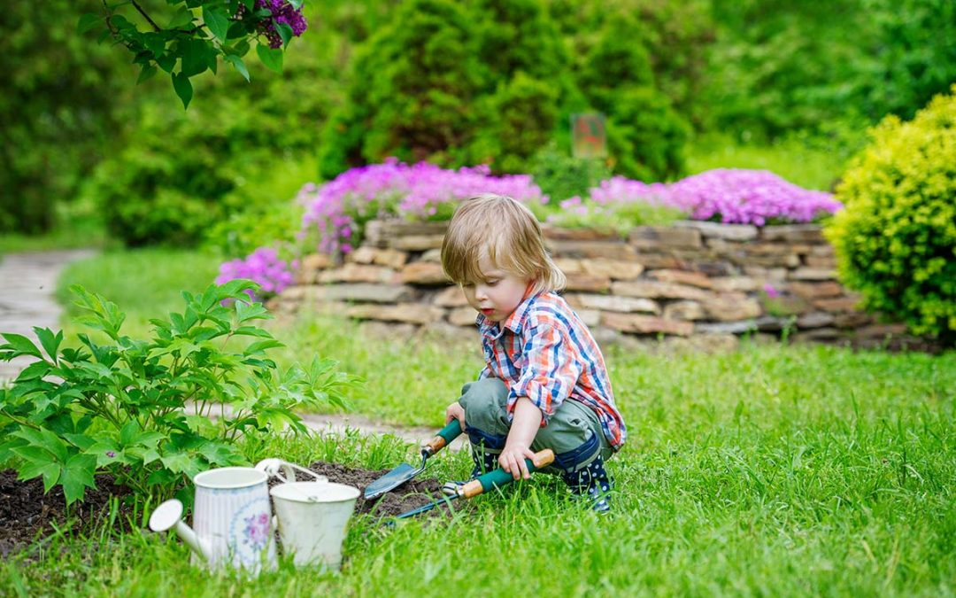 Garden activities for the whole family