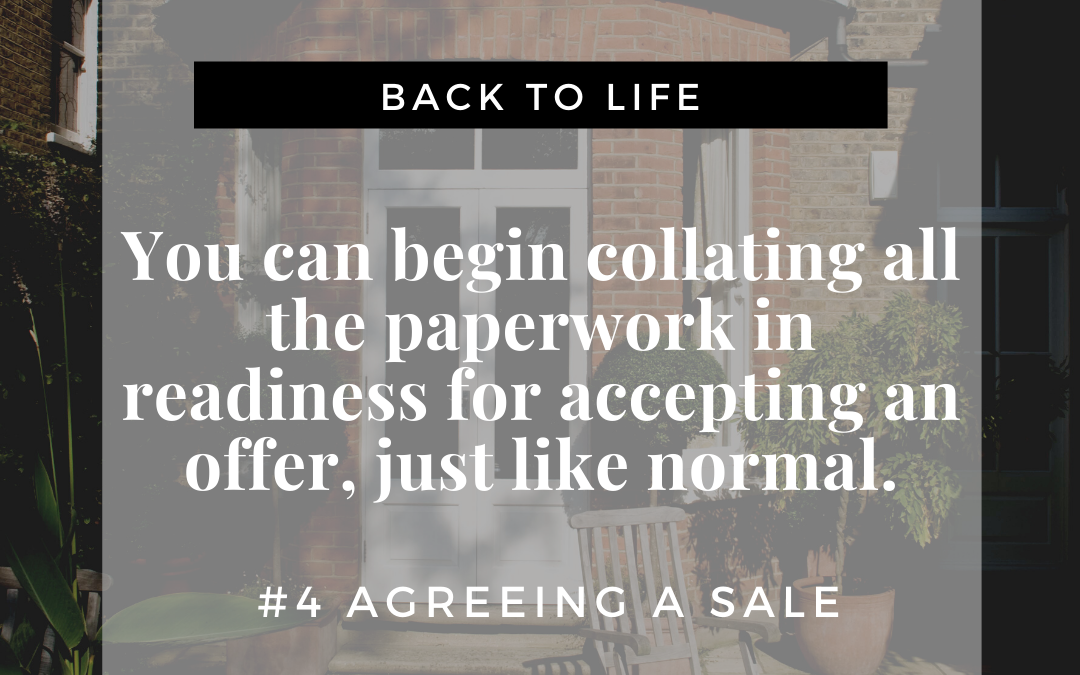 Agreeing A Sale
