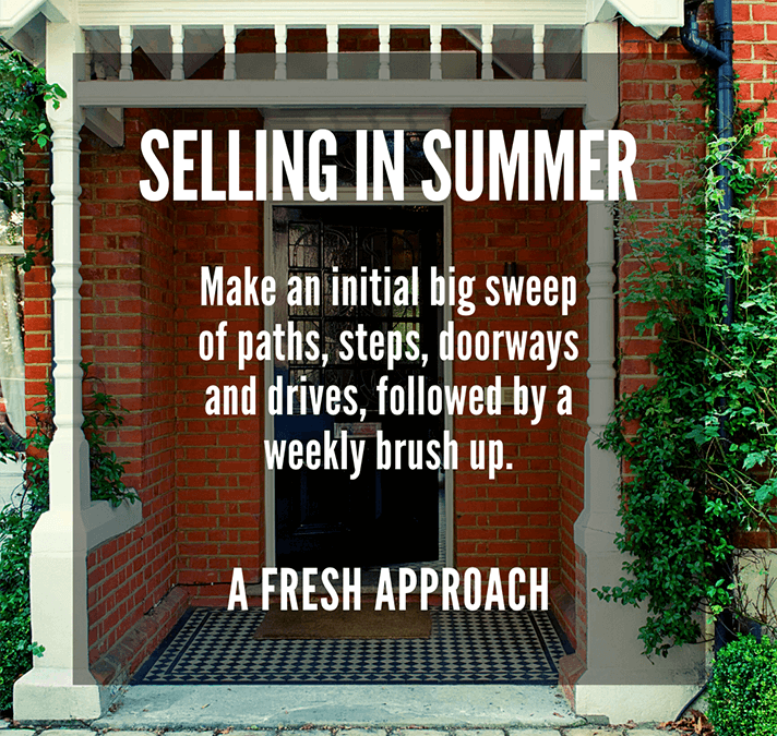 SELLING IN SUMMER  PART TWO: BEAUTIFUL BALCONIES