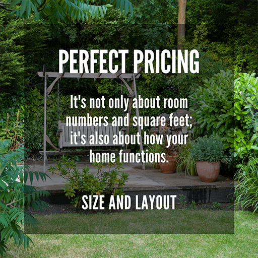 Perfect Pricing: Size and Layout